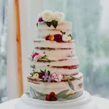 Vanilla Bean And Berry Naked Cake