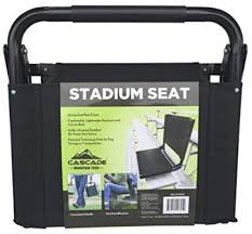 Padded Stadium Chairs For Bleachers by Bleacher Stadium Seat Folding Chair Cushion Portable Padded Back