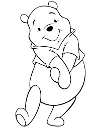 Free Printable Winnie The Pooh Bear Coloring Pages