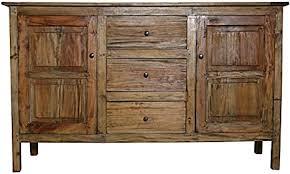 rustikal kommode sideboard anrichte wohnzimmer buffet landhaus holz antik vintage 90 x 150 x 47 cm