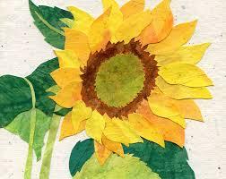 Sunflower Bath Gift Set by Yellow Sunflower Art Print Country Garden Print By Earthbeauties