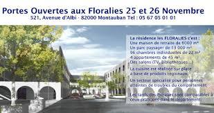 maison de retraite montauban journées portes ouvertes aux floralies à montauban parlons en