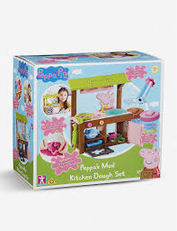 peppa s mud kitchen dough set