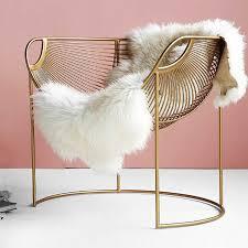 goldene luxus eisen freizeit stuhl einzigen sofa stuhl