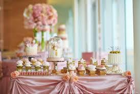 Elegant Christmas Dessert Table