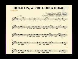 Flugelhorn Hold We re Going Home Drake Sheet Music