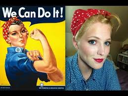 Rosie The Riveter Halloween Tutorial by Easy Last Minute Halloween Costume Rosie The Riveter Youtube
