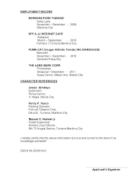 Sample Resume Of Sales Lady References Available Upon Request Character Reference Ideas With Additional Tips Re Examples