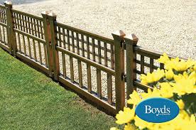 Decorative Garden Fence Border by Border Edging Fence Panels Bronze Effect Ideal For Lawn Edge Paths
