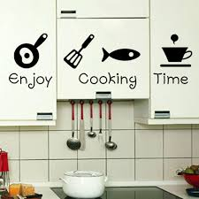 New Design Creative DIY Wall Stickers Kitchen Decal Home Decor Restaurant Decoration 3D Wallpaper Art ZY8300 In From Garden On