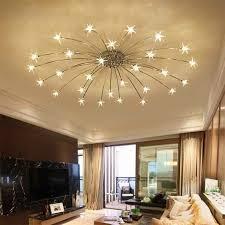 kreative kronleuchter decken schlafzimmer wohnzimmer moderne leuchte g4 sterne decke leuchten lustre led für kinder zimmer