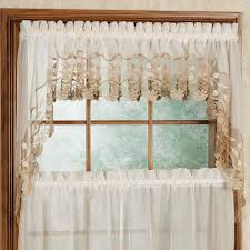 Cafe Style Curtains Walmart by Living Room Kitchen Curtains Swags Tiers Valances Cafe Curtains