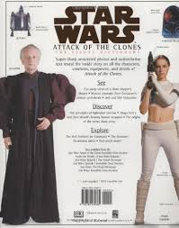 The Visual Dictionary Of Star Wars Episode II