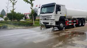 100 Water Truck Tanks HOWO Water Tank Truck Tanker Sprinkling Sprinkler Truck China YouTube