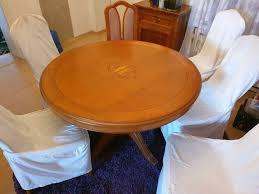 esszimmertisch rund ausziehbar mit 6 stühlen