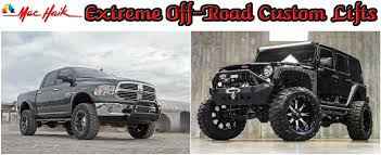 Mac Haik Extreme Off-Road Custom Lifts For Jeeps And Trucks