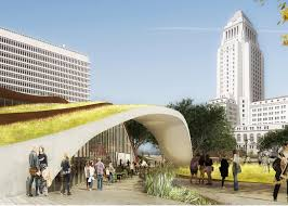 100 Scarpa Architects OMA Unveils New Type Of Park Space For LAs FAB Civic Center