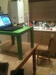 Diy Standing Desk Riser by Diy Adjustable Standing Desk Best Home Furniture Design