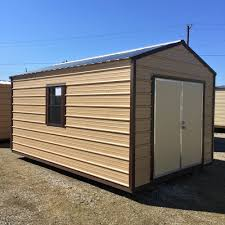 10x20 Metal Storage Shed by Portable Storage Buildings