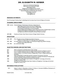 Resume Templates Sample For Adjunct Faculty Position Cv Lecturer Pdf In Engineering College