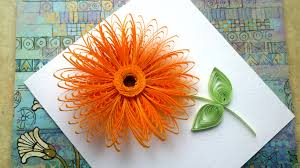 Quilling Flowers Tutorial Wiht A Comb Art