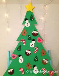 Toddler Friendly DIY Felt Christmas Tree