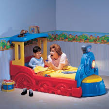 Train Toddler Bed B94 In Best Small Bedroom Ideas with Train