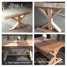 Budget Restoration Hardware Outdoor Table Replica
