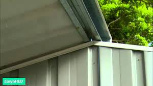 Absco Sheds Mitre 10 by Easyshed Garden Shed Assembly Installation Youtube