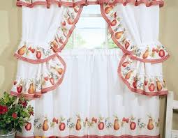 Kitchen Curtains At Walmart by Curtains Graceful Red Kitchen Curtains Walmart Notable Red