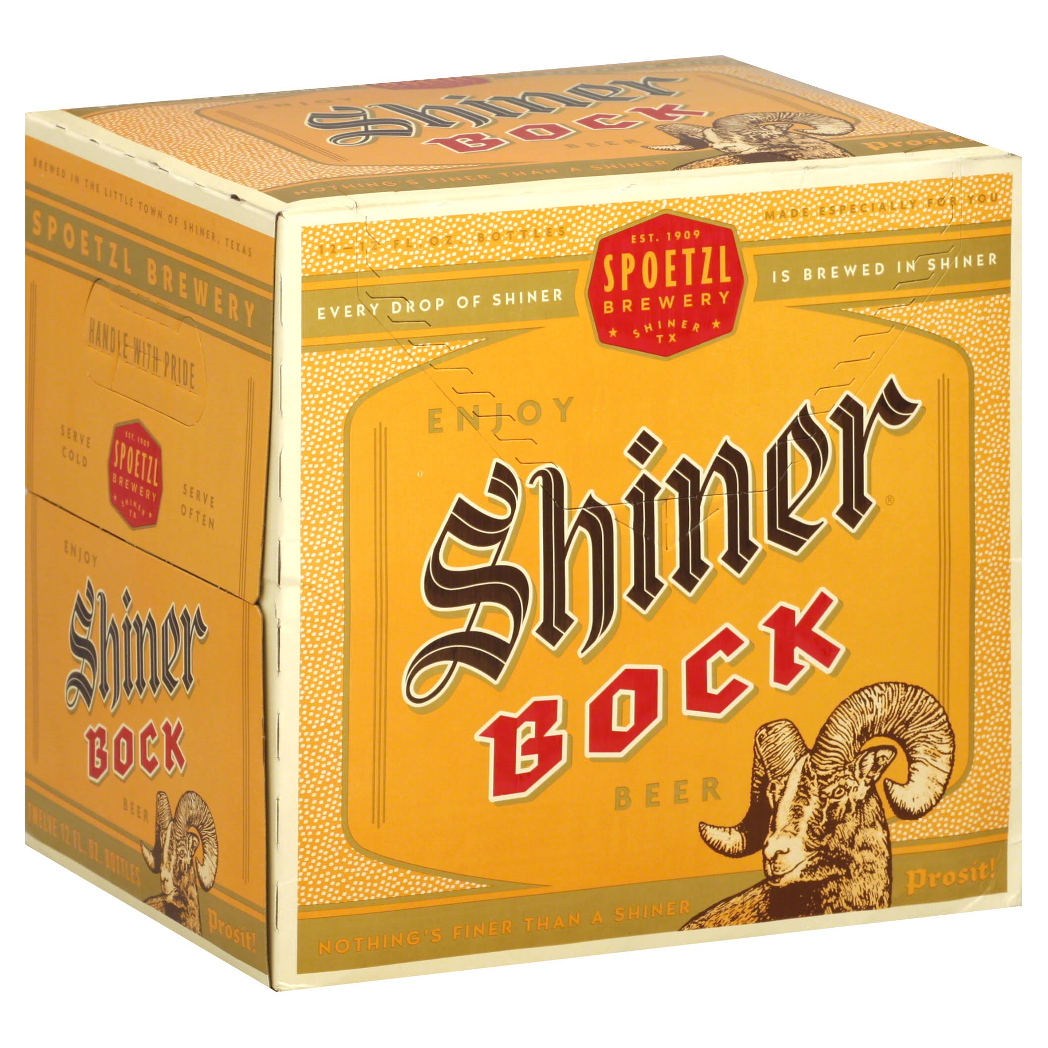 Spoetzl Shiner Bock Beer - 12oz, 12pk