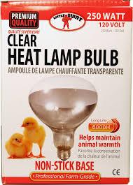 miller mfg heat l bulb clear 250 watt miller mfg