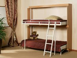 Diy Murphy Bunk Bed by Bunk Bed Solutions For Small Spaces Home Delightful Loft With Desk
