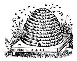 Beehive vintage bee hive clipart kid Clipartix