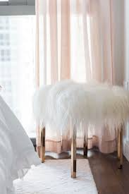 Blogger Jessica Sturdy Of Bows Sequins Shares Her Chicago Parisian Chic Bedroom Design Light Pink