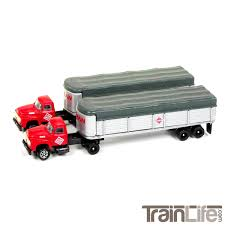 CMW N Scale 1954 Ford Tractor Trailer | McLean Trucking | TrainLife ...