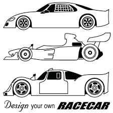 Coloring Pages Race Car Colouring Printable Pdf Racing Pictures To Print Cars Free