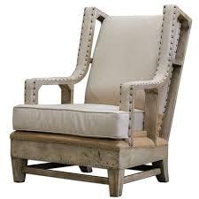 Check Out The Uttermost 23615 Schafer Linen Armchair