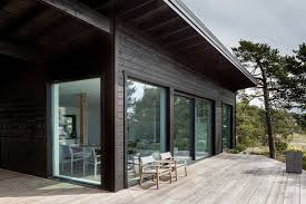 100 Modern Summer House Scandinavian Log Cabin Set On A Beautiful Baltic Sea Island