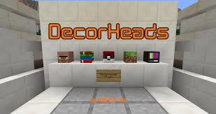 DecorHeads Plugin 1 7 2 Minecraft 1 12 2