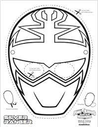 SUPER MEGA Power Rangers Printable