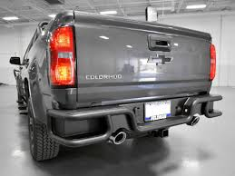 Rear Bumper, Dual Exhaust - Motor City Aftermarket Receiver Hitch Step That Helps Eliminate Rear End Collision Damage Iron Cross Chevy Silverado 52018 Heavy Duty Series Full Add Stealth Fighter Rear Bumper Raptorpartscom 72018 F250 F350 Hammerhead Flush Mount 60592 Magnum Bumpers Go Rhino Br20 Autoaccsoriesgaragecom Aftermarket Bumper Toyota Nation Forum Car And F150 Honeybadger W Backup Sensors Off Road Lings Of York Tow Hooks