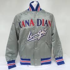 Vintage Bud Light Beer Coaches Jacket