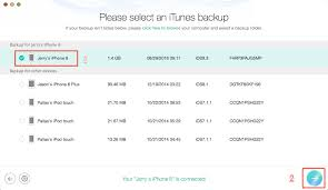 How to View iPhone Backup on Mac iMac MacBook iMobie