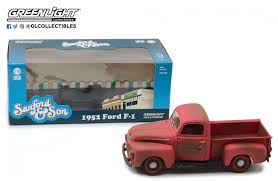 100 Sanford And Son Pickup Truck DTW Corporation Greenlight Green Light TV Drama And 1