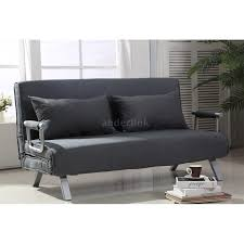 100 Sofa Living Room Modern 58 Fabric Upholstry Couch Dark Gray 2
