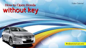 100 I Locked My Keys In My Truck Unlock Honda Civic Without Key YouTube
