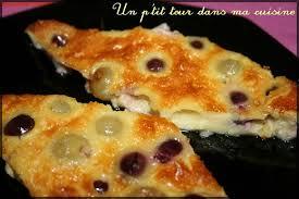 dessert aux raisins frais gateau de raisin frais arts culinaires magiques