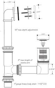 tub drain assembly replace mobile home bath tub drain patent