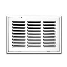 Decorative Return Air Grille 20 X 20 by 40 X 20 Steel Return Air Filter Grille For 1 Filter Removable